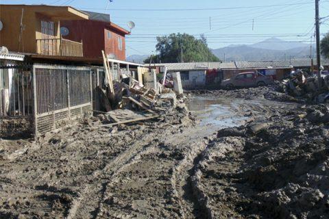 Continúa estado de emergencia en Copiapó