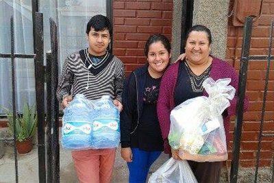 Alegría y esperanza en las familias de Copiapó al recibir ayudas reunidas en Santiago