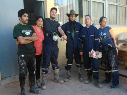Pastoral y Federación de Estudiantes ayudan a familias de Copiapó afectadas por aluvión
