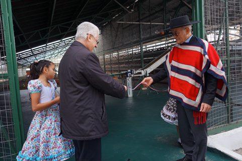 Obra de Linares inaugura reliquia de Don Bosco y nuevo Plantel Avícola