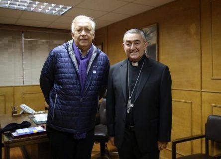 Mons. Vargas se reunió con el Ministro del Interior