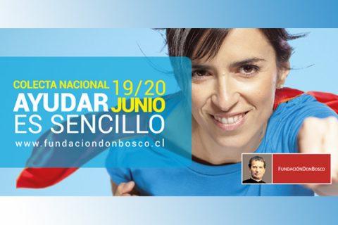 #AyudarEsSencillo: Colecta Nacional Fundación Don Bosco