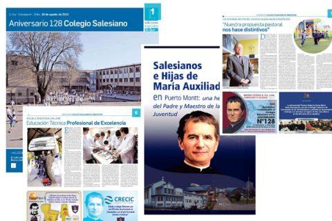 Publicaciones en medios regionales con ocasión del Bicentenario