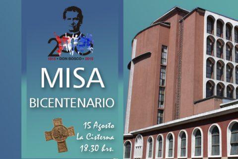 Sábado 15 de Agosto: Misa del Bicentenario en Santiago