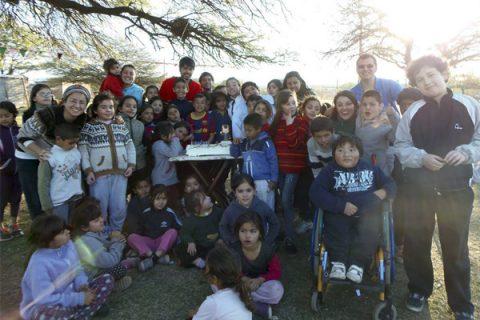 Novicios chilenos celebran el Bicentenario en Argentina
