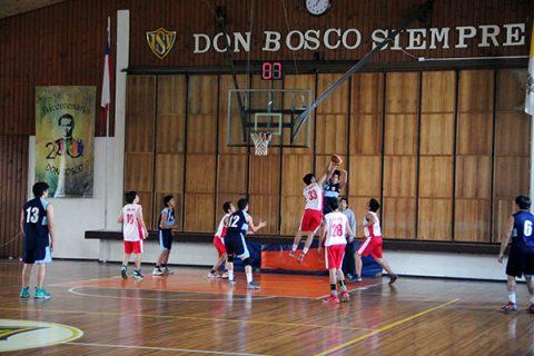 Doce colegios participaron en el Campeonato Nacional Salesiano de Basquetbol