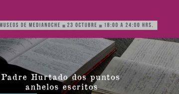 Museo del Padre Hurtado abrirá sus puertas para Museos de Medianoche