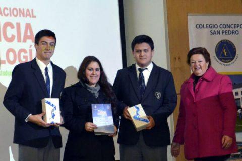 Alumnos Salesianos de Talca obtienen primer lugar en Feria Científica Nacional