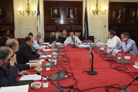 Área Educación de la CECh se reunió con Comisión de Educación del Senado
