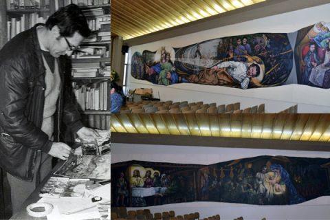 Después de 35 años es culminada una de las obras artísticas del Salesiano Luis Mebold