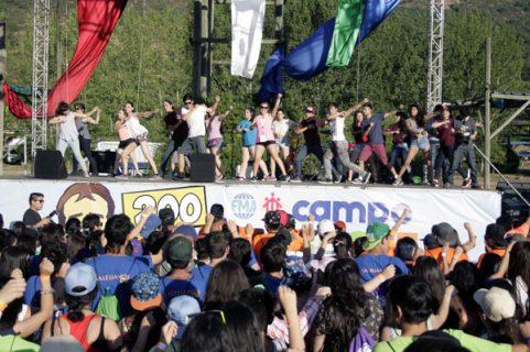 Iniciado en Picarquín multitudinario campamento del Movimiento Juvenil Salesiano