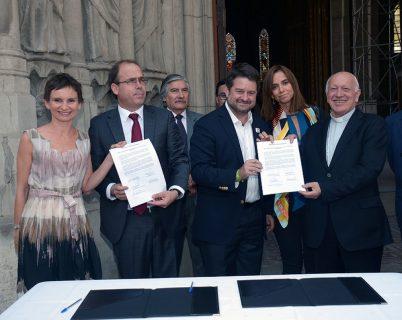 Cardenal Ezzati agradece el acuerdo de restauración de la Basílica del Salvador