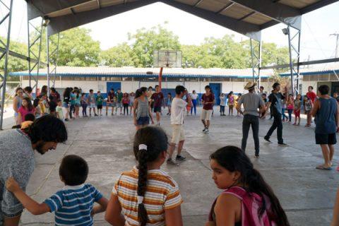 Niños de Lo Prado participaron en las Colonias del Centro Educativo de Alameda