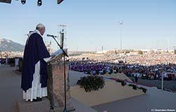 Papa Francisco: los invito a soñar el México que sus hijos se merecen