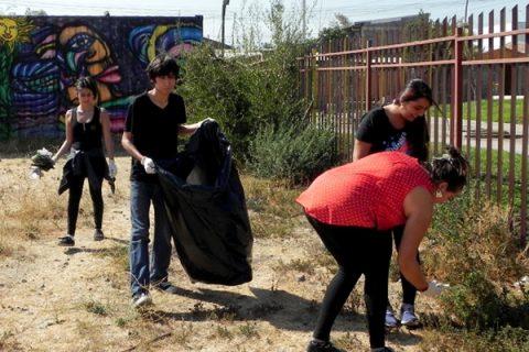 """Gratificante """"Mechoneo Solidario"""" en la UCSH"""