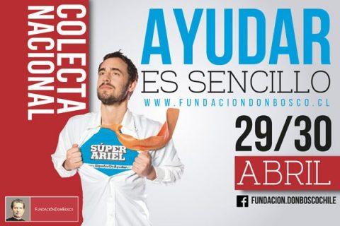 #AyudarEsSencillo: Se alistan unos mil voluntarios para la Colecta Nacional de Fundación Don Bosco