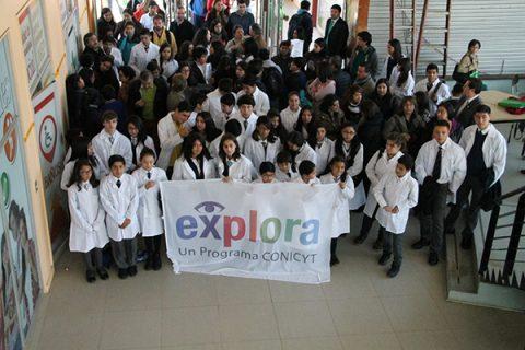 """Instituto Salesiano de Valdivia parte del programa """"Abramos nuestros Laboratorios"""" de EXPLORA"""