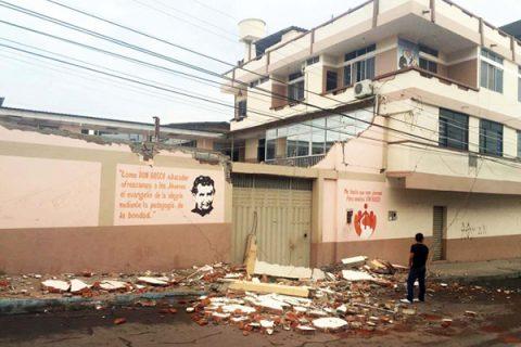 Obras Salesianas afectadas por terremoto de gran intensidad en Ecuador
