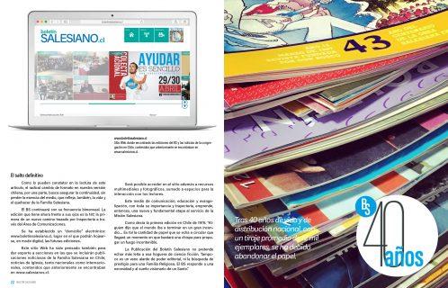 40 años de Boletín Salesiano en Chile: Inicio de su versión digital