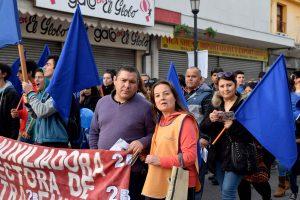 Multitudinaria procesión de María Auxiliadora en Talca