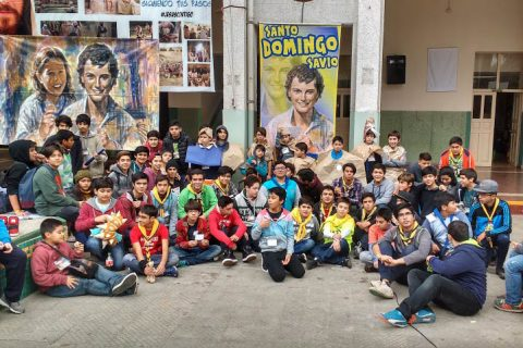Con gran entusiasmo se vivió Encuentro Metropolitano del Club Domingo Savio