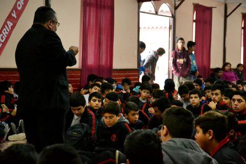 Salesianos Copiapó: Reflexión sobre la prevención del consumo de drogas en los jóvenes