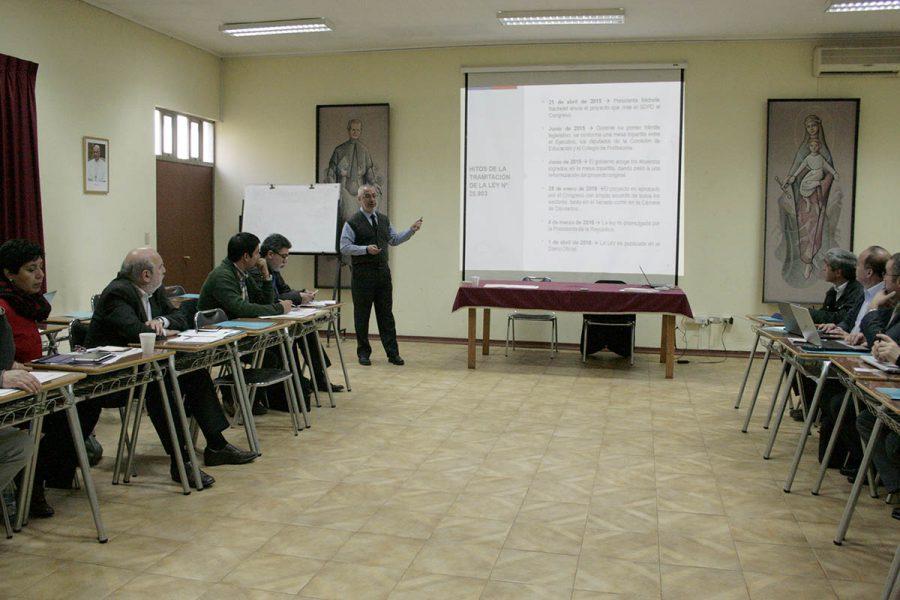 Trascendentales temas abordados en Jornada de Rectores de colegios salesianos