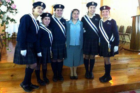 FMA: Profesión Perpetua de Sor Andrea Venegas