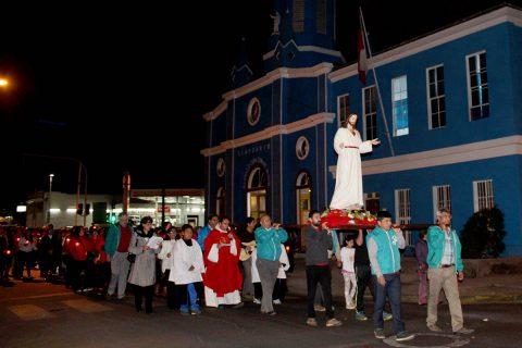 El Santuario del Sagrado Corazón de Jesús celebró 120 años