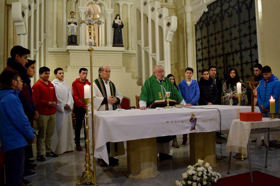 Presencias salesianas de Chile en comunión con Templo de la Gratitud Nacional