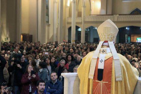 [VIDEO] Cardenal Ezzati presidió Eucaristía de desagravio en la Gratitud Nacional