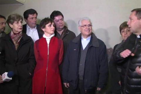 [Video] Autoridades de Santiago se hicieron presentes en La Gratitud Nacional