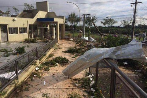 """Brasil – Tornado golpea Colegio Salesiano """"São José"""" de Campinas"""