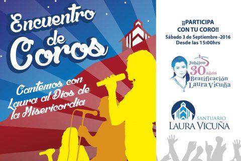 """Se aproxima Encuentro de Coros: """"Con Laura Cantemos al Dios de la Misericordia"""""""