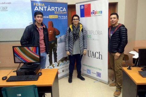 Alumnos salesianos de Valdivia trabajan en proyecto para Feria Antártica Escolar 2016