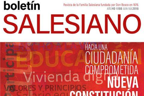¡Ya puedes leer la Edición 188 del Boletín Salesiano!