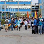 Comunidad de Antofagasta cruzó la Puerta Santa