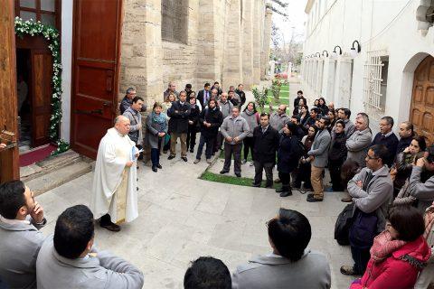 Escuela Salesiana de La Serena cruzó la Puerta Santa