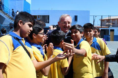 Vicario del Rector Mayor inició su visita a Chile en la Región de Tarapacá
