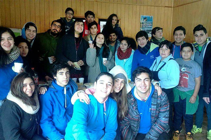 """MJS  de Valdivia llevó el mensaje a la comunidad rural de """"Isla Rey"""""""