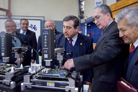 Seremi de Educación del Maule inauguró equipamiento de vanguardia para el CEST