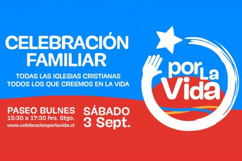 Iglesias cristianas convocan a celebración por la vida en Santiago