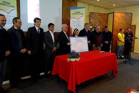 Salesianos renovaron acuerdo de cooperación por la dignidad y derechos de los niños con Mesa Interinstitucional Bice-Chile