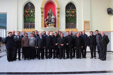 Vicario del Rector Mayor se reunió con los directores Salesianos de Chile en Punta Arenas