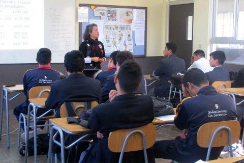 Alumnos salesianos de La Serena participaron en programa de educación financiera