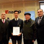 Alumno salesiano de Talca recibió el premio al Mejor Perfil Profesional Eduprof 2016