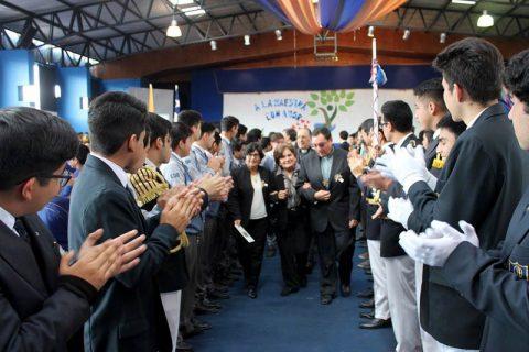 Colegio Don Bosco de Iquique rindió homenaje a maestra normalista