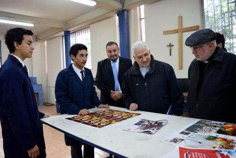 P. Lorenzelli dio énfasis en la importancia de la educación gratuita en visita Inspectorial a Talca