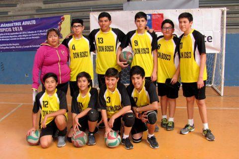Alumnos salesianos de Iquique representarán a su región en los Juegos Deportivos Escolares
