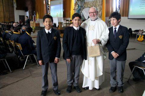 El salesiano P. Sergio Body celebró 55 años de ordenación sacerdotal